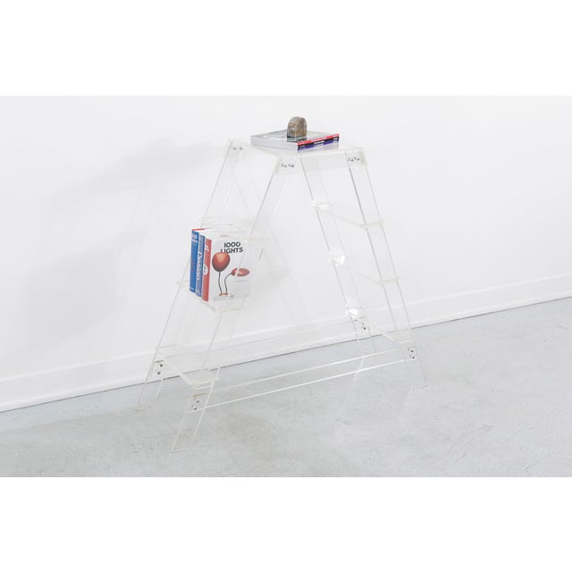 Lucite Lucite Ladder For Sale - Image 7 of 7