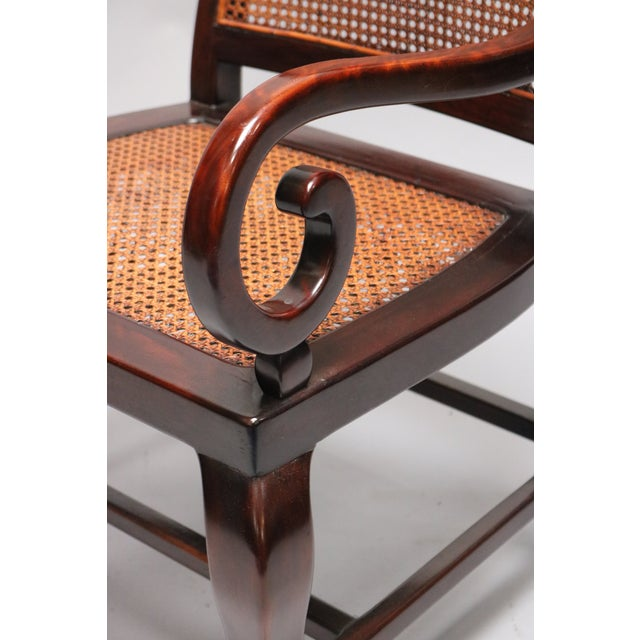 2010s Guangdong Ironwood Colonial Armchair For Sale - Image 5 of 7
