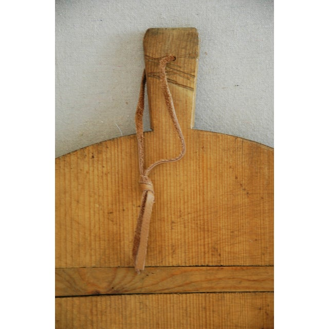 1920s Large French Harvest Bread Cheese Board - Image 3 of 5