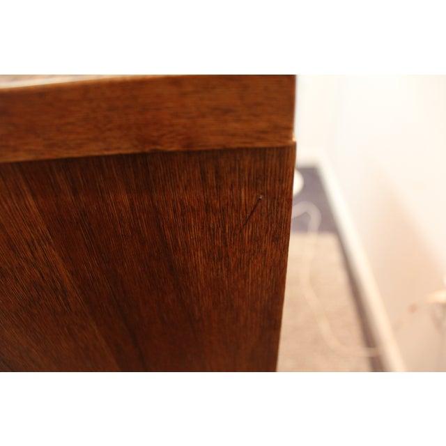 Mid-Century Modern Bassett Walnut Tall Chest - Image 11 of 11