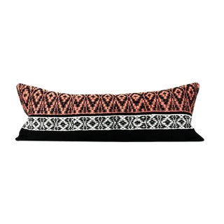 Bohemian Tribal Woven Large Lumbar Pillow