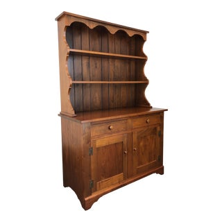 Ea Clore Sons Dutch Cupboard in Solid Walnut 507-R For Sale