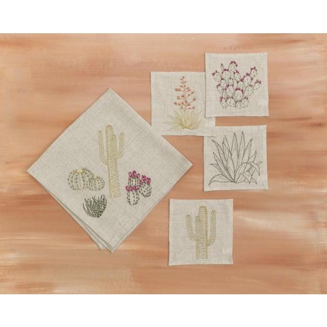 Cacti Field Dinner Napkin - Image 7 of 8