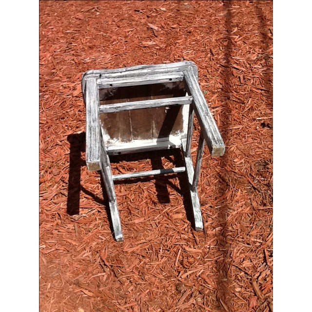 Antique Shabby Chic Chair - Image 6 of 6