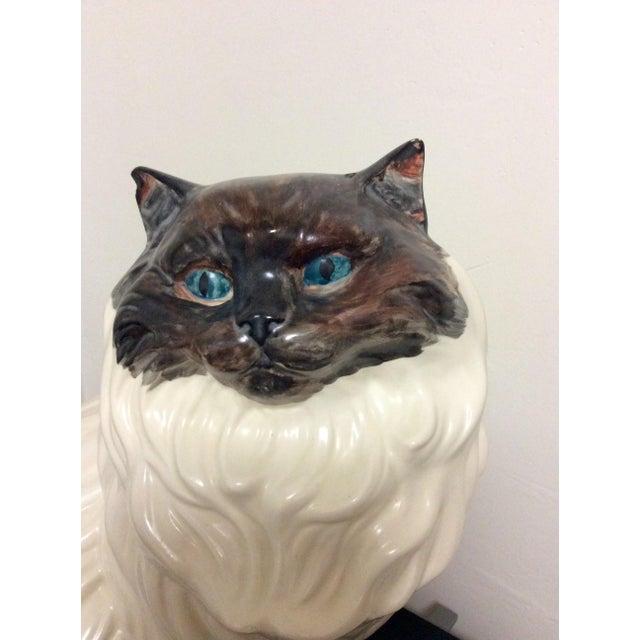 Antique Porcelain Cat - Image 3 of 9