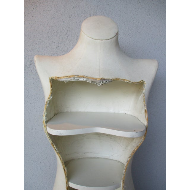 Boho Glam Body Form Mannequin Retail Store Display Shelf - Image 10 of 11