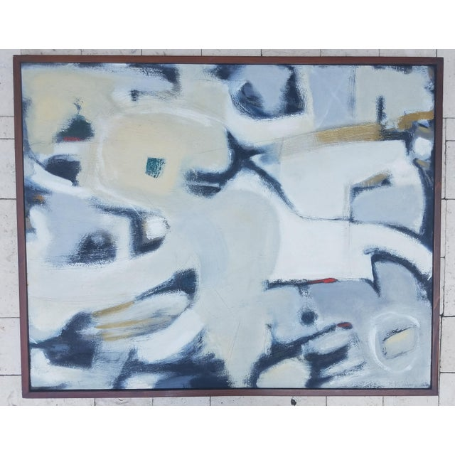 Abstract Beth Downey Abstract Painting For Sale - Image 3 of 3