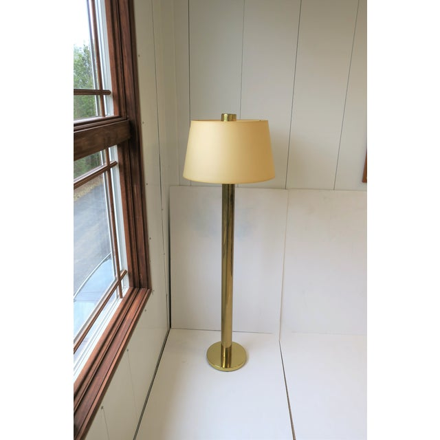 Modern Brass Floor Lamp by Koch and Lowey For Sale - Image 13 of 13