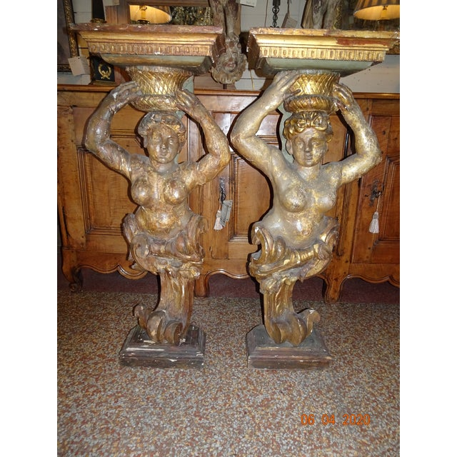 17th Century Italian Caryatids - a Pair For Sale - Image 11 of 11