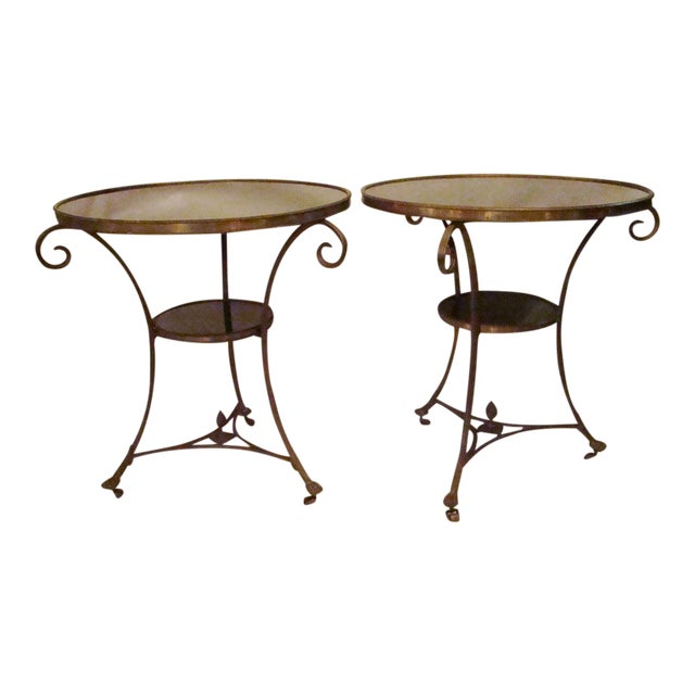 French Gueridon Side Tables - A Pair For Sale