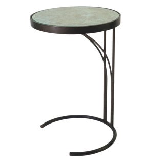 Gotham Collection Contemporary Optic Side Table For Sale
