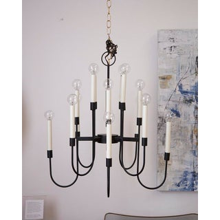16 Arm Lightolier Iron Chandelier Preview
