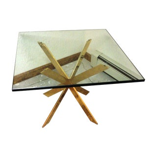 Pace Collection Double X Side Table Base For Sale