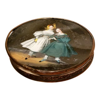 19th Century French Bonbonniere Box For Sale