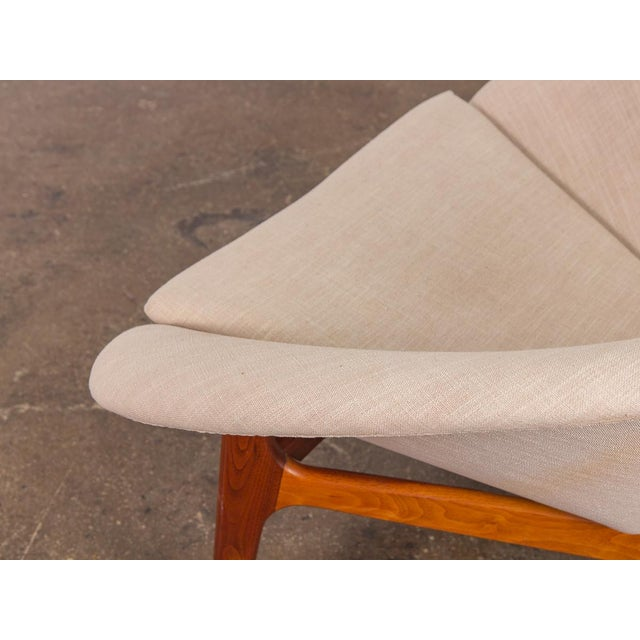 Rare Adrian Pearsall Coconut Chair For Sale In New York - Image 6 of 10