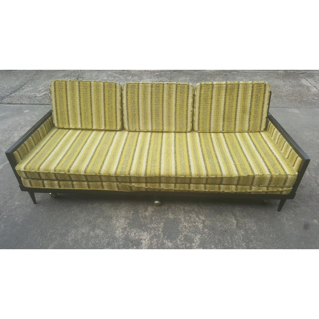 Mid-Century Modern Convertible Sleeper Sofa For Sale - Image 10 of 11