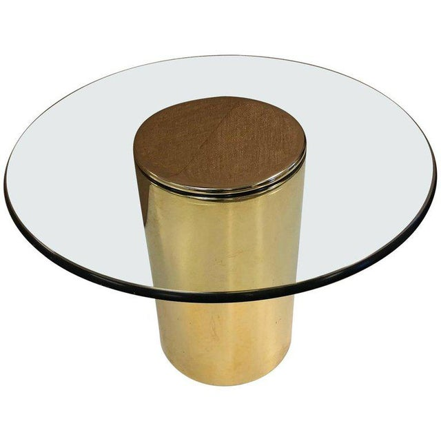 Pace Collection Brass Side Table by Pace For Sale - Image 4 of 4