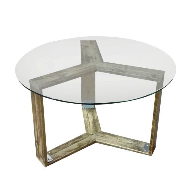 Custom Pallet Wood Side Table - Image 1 of 9
