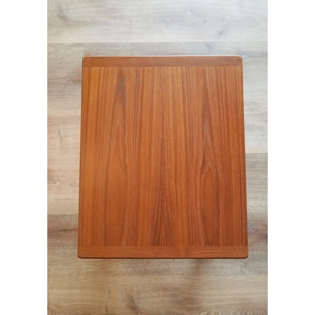 Vejle Stole & Møbelfabrik Teak Coffee Table With Nesting Side Tables - 3 Pieces For Sale In Seattle - Image 6 of 13