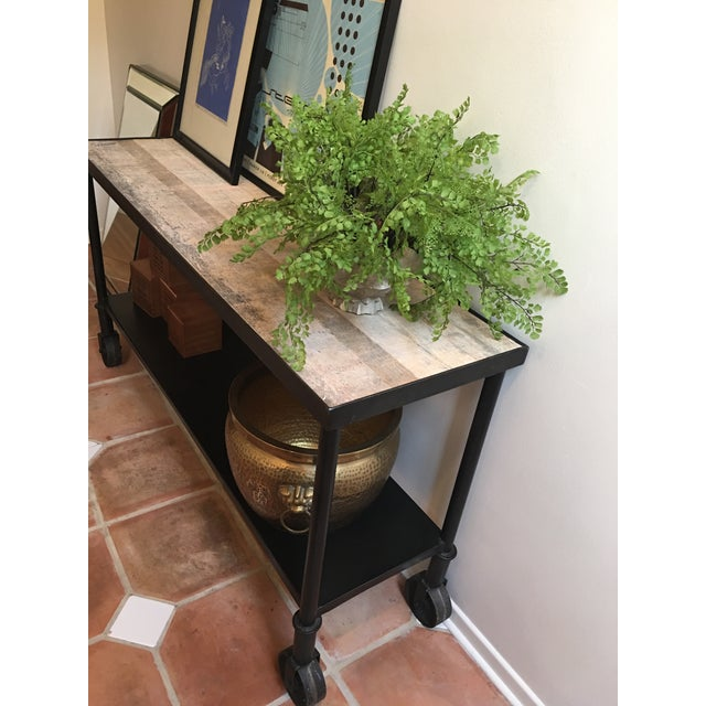 HD Buttercup Rustic Console Table - Image 6 of 7