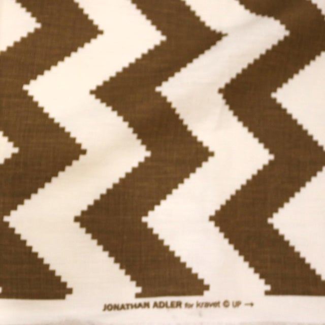 This is a listing for a Kravet Fabric designed by Jonathan Adler. Pattern: LIMITLESS Color name: Cocoa Fabric content:...