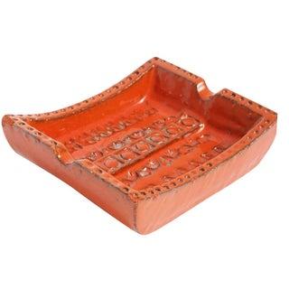 Italian Bitossi Ceramic Ashtray For Sale