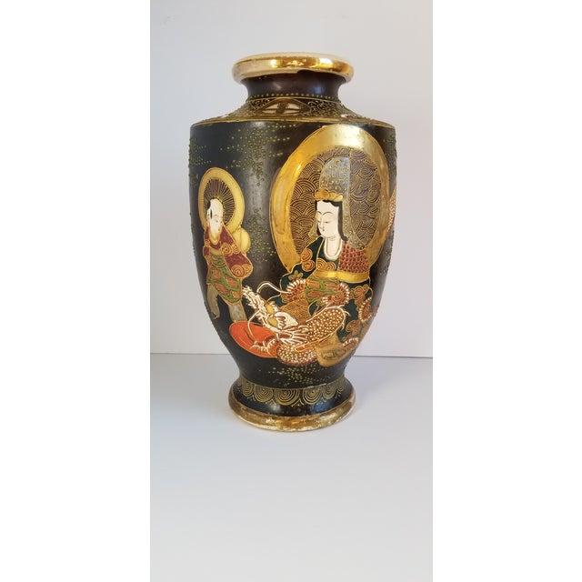 Early 20th Century Satsuma Century Japanese Vase For Sale - Image 13 of 13