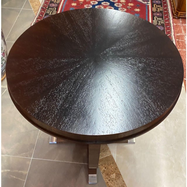 2000 - 2009 Willam Switzer St Honore Accent Table For Sale - Image 5 of 10