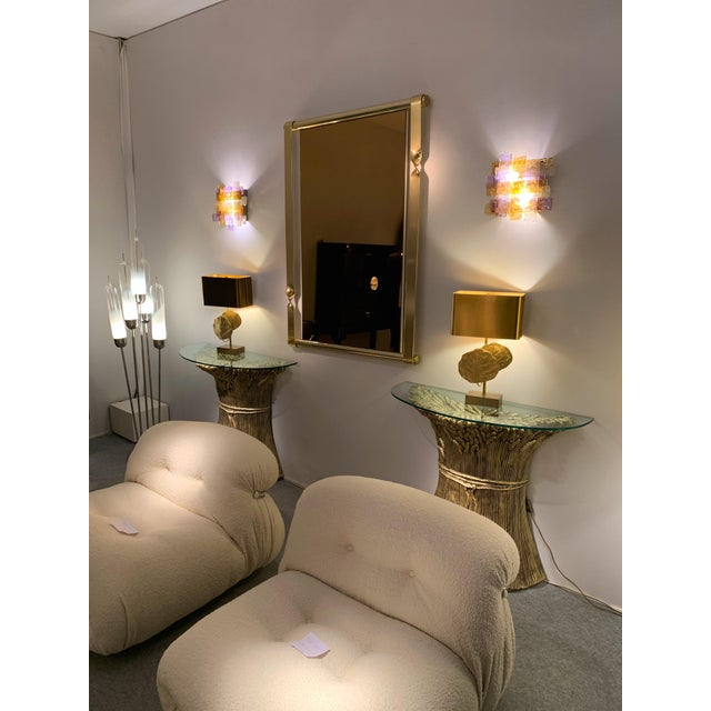 Pair of Murano Glass Sconces by Venini. Italy, 1970s For Sale - Image 10 of 12