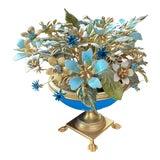 Image of Fleur Des Siècles Enamel Floral Bouquet For Sale