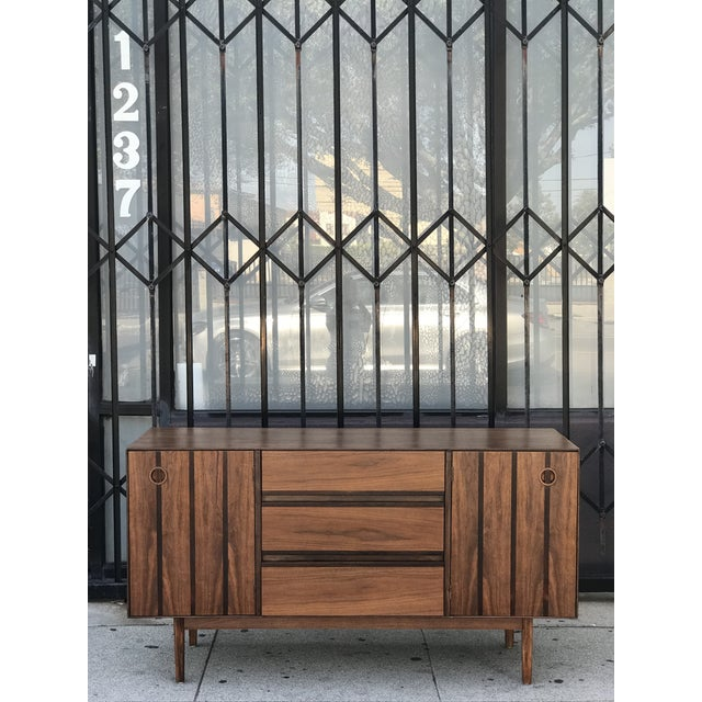 Distinctive Furniture Credenza by Stanley For Sale - Image 13 of 13