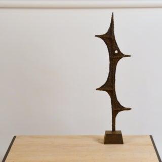 Tall Brutalist Studio Sculpture by John De La Rosa Preview