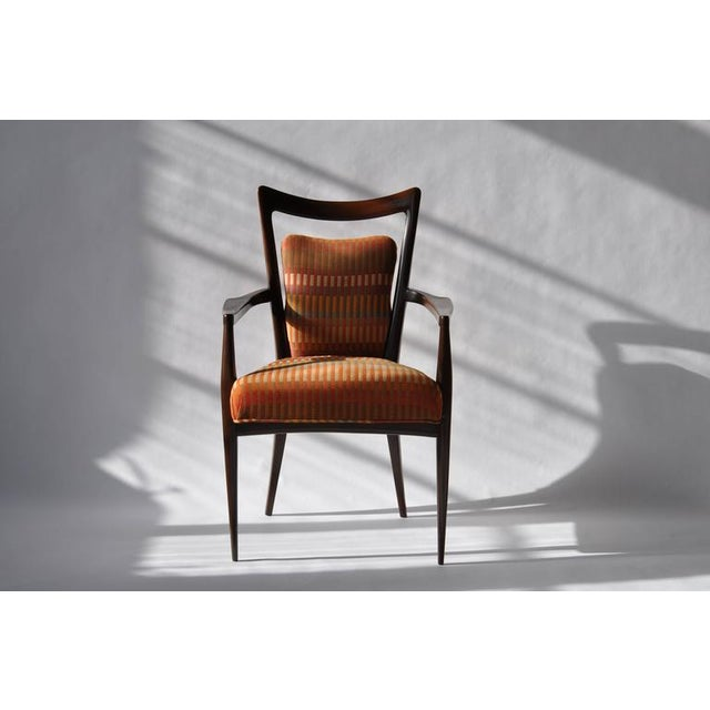 Set of Six Erno Fabry Dining Chair - Image 3 of 10