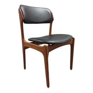 1960s Vintage Erik Buch for O D Mobler No 49 Side Chair For Sale