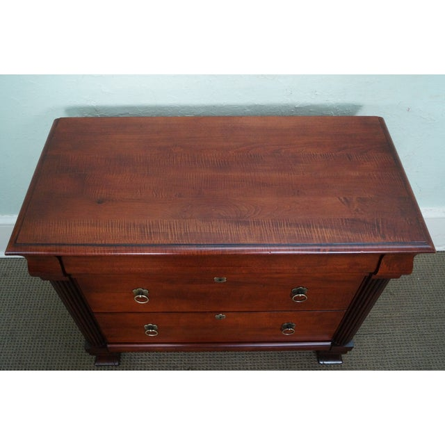 """Ethan Allen British Classics """"Daryn"""" Chests Nightstands - A Pair - Image 5 of 10"""