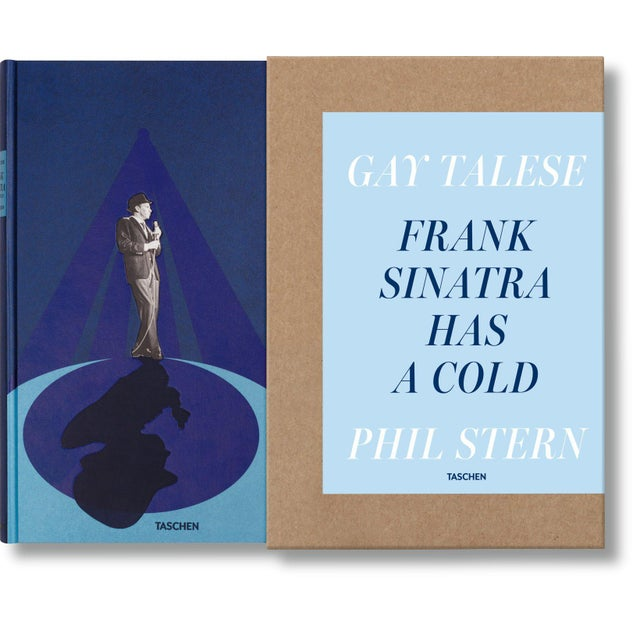 "Blue ""Frank Sinatra Has a Cold"" by Gay Talese Photography by Phil Stern Autographed Collector's Edition For Sale - Image 8 of 8"