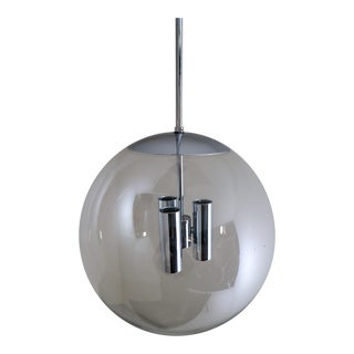 Hand Blown Pendant Made by the German Manufacturer Limburg Glashütte For Sale