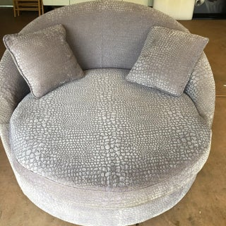Late 20th Century Contemporary Swivel Lounge Chair Preview