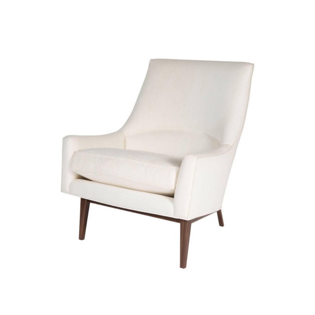 Pair of Cedrick Lounge Chairs For Sale - Image 4 of 6