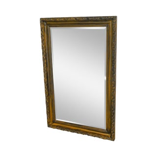 LaBarge Large Rectangular Beveled Glass Wall Mirror For Sale