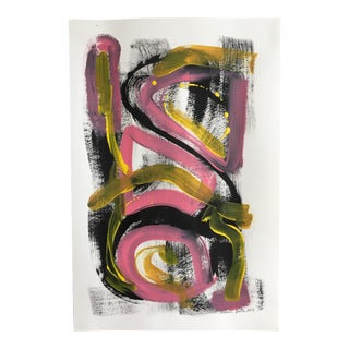 "Jessalin Beutler ""No. 78"" Acrylic Painting"