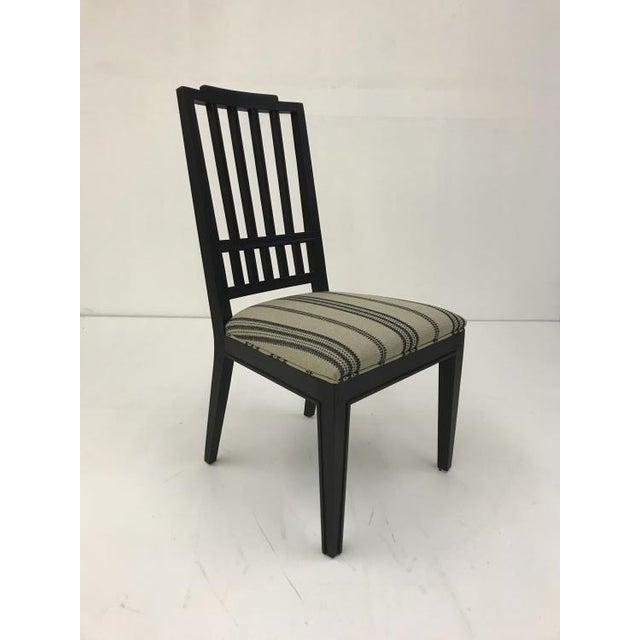 Century Furniture Century Furniture Casa Bella Slat Back Dining Side Chair For Sale - Image 4 of 4