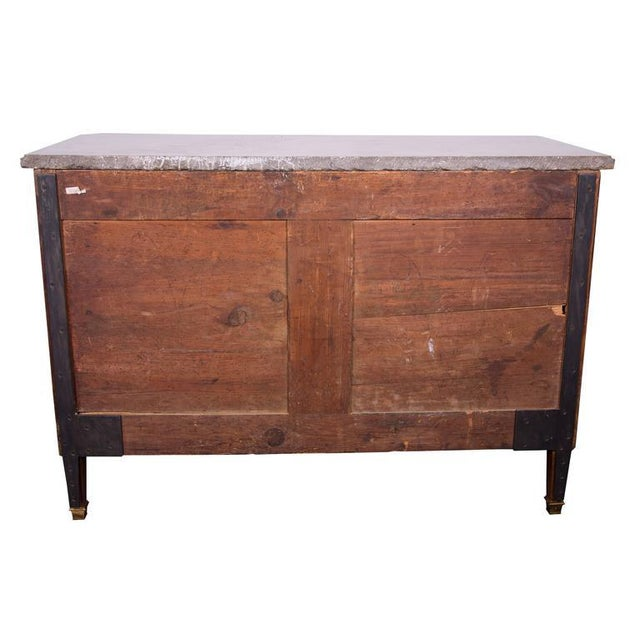 18th Century Italian Neoclassic Walnut and Fruitwood Commode - Image 3 of 6