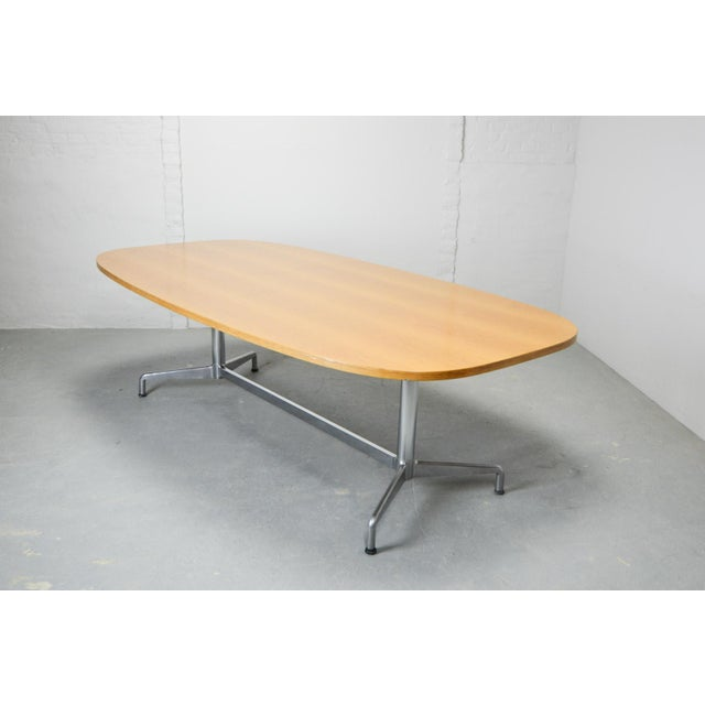 Herman Miller Large Mid-Century Design Eames Conference Dining Table for Herman Miller, Usa, 1960s For Sale - Image 4 of 11