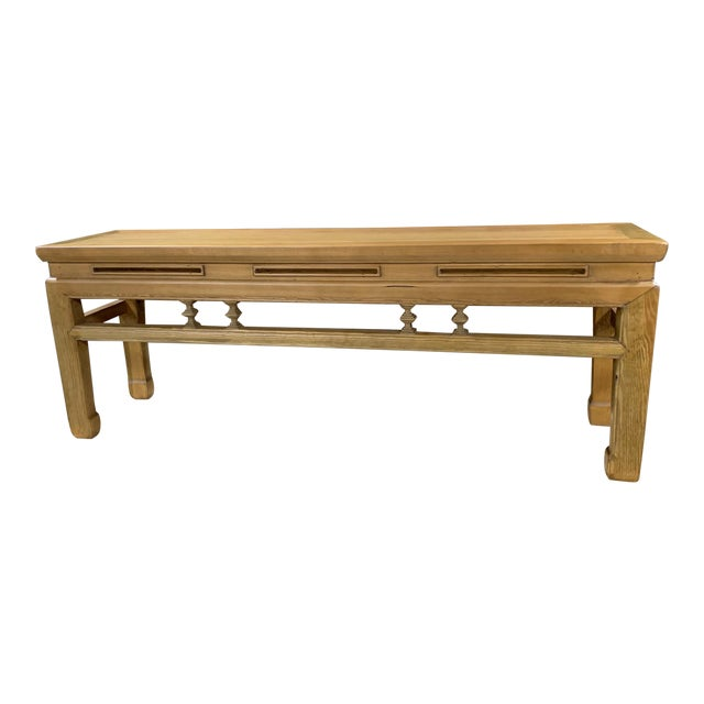 Low Asian Bench For Sale