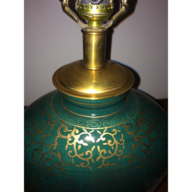 Asian Frederick Cooper Asian Inspired Ginger Jar Table Lamp For Sale - Image 3 of 7