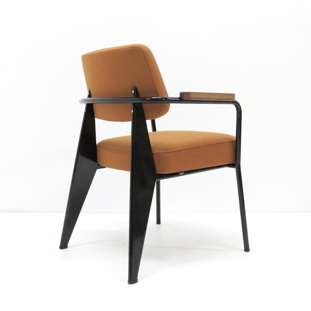 2010s Vitra Fauteuil Direction by Jean Prouvé Armchair For Sale - Image 5 of 11