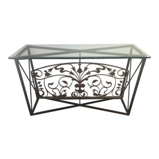 Architectural Antique Console
