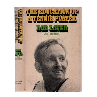 "1971 ""Signed Edition, the Education of a Tennis Player"" Collectible Book For Sale"