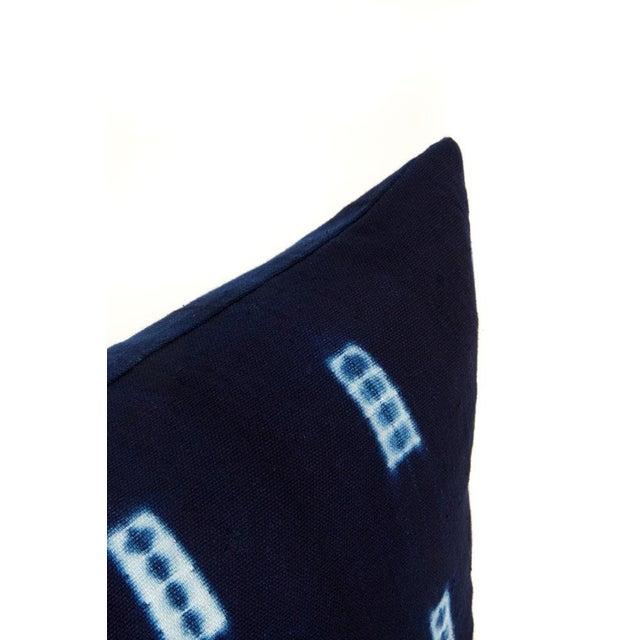 Indigo Blue Mud Cloth Pillow Covers - a Pair - Image 2 of 3